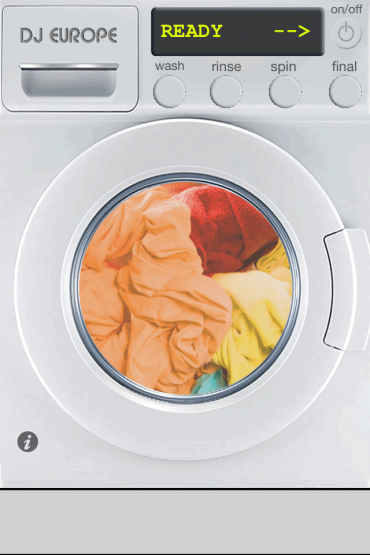 DJ Europe launches amazing free washing machine app with vibrating spin cycle