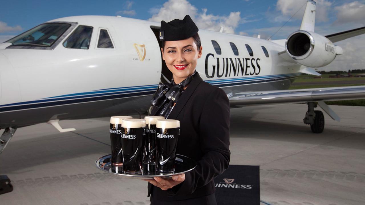 Guinness - Fly Guinness Class